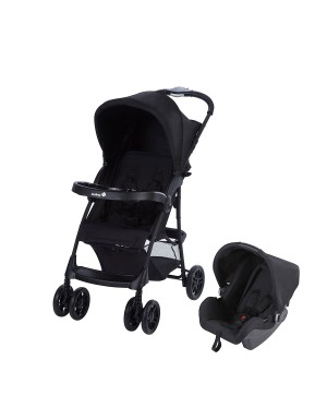 Passeggino Duo Taly 2 in 1 Black